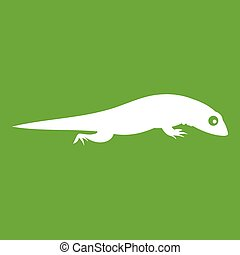Lizard icon green