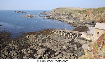 Lizard peninsula Cornwall uk