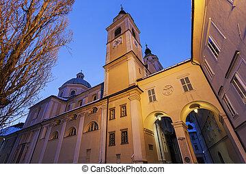 ljubljana, 大聖堂, ニコラス, 聖者