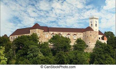 Ljubljana castle, slovenia.