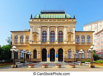 ljubljana, slovénie, galerie nationale
