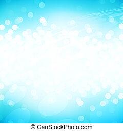 ljusblå, gnistra