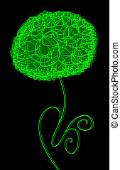 ljusgrönt