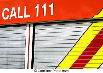 llamada, 111, emergencia