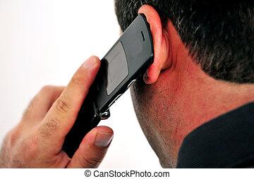 llamada telefónica móvil
