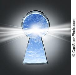 llave, éxito