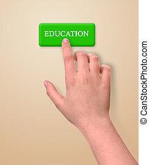 llave, a, educación