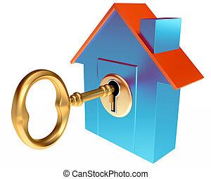 llave de la casa