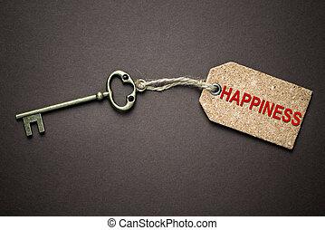 llave, felicidad