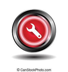 llave inglesa, icono