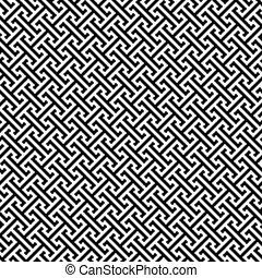 llave, patrón, seamless, griego, plano de fondo, geométrico