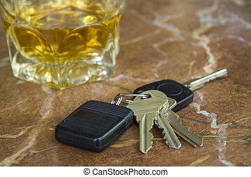 llaves, bebida