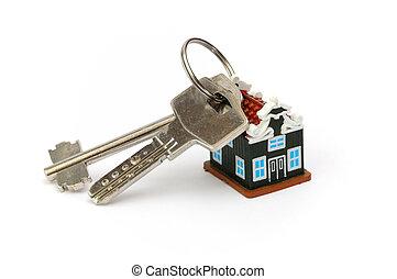llaves, de, casa nueva