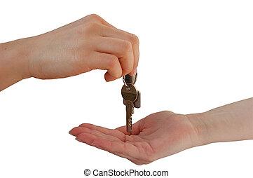 llaves, entrega