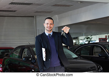 llaves, vendedor coche, tenencia
