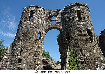 llawhaden, castillo