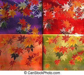 llenar, kimono, textura