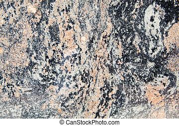 lleno, banded, marco, metamórfico, gneis, plano de fondo, roca, torcido, granito