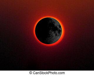 lleno, eclipse