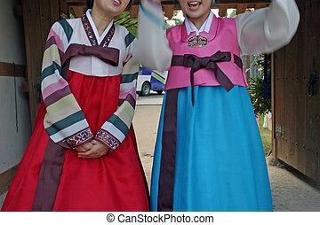 llevando, hanbok