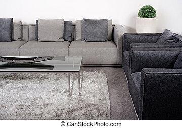 lliving-room, ∥で∥, クラシック, 家具
