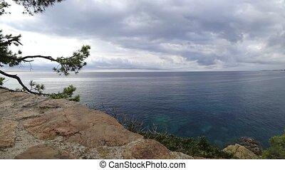 Lloret de Mar, Costa Brava in Catalonia, Spain - Lloret de...