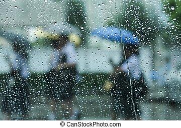 llover, paraguas