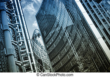 "Lloyd`s Building, ""The Gherkin"" and Willis Building -..."