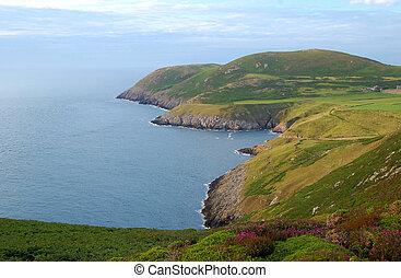 llyn, norte, península, gales