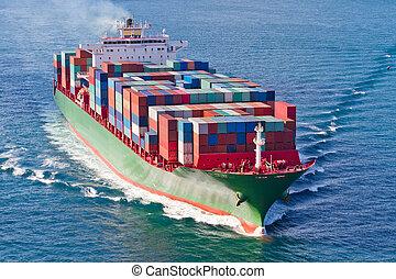 loďstvo přepravní skříň