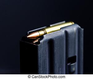 Loaded Magazine - Loaded AR-15 Magazine