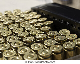 Loaded Magazine - Loaded magazine with the bullets