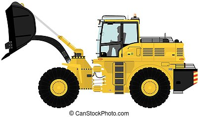 Loader. - Modern loader. Vector illustration.