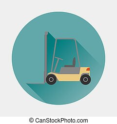 Loader vector icon.