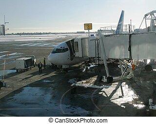 Loading a Plane