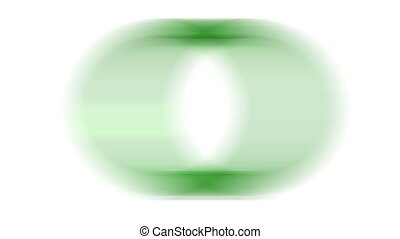 Loading - Blur loading green ring