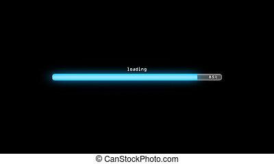loading dark background