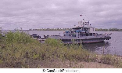 loading ferry
