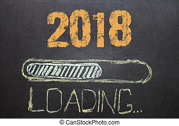 Loading New Year 2018 on Blackboard