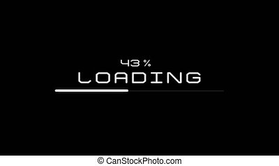 Loading process to complete