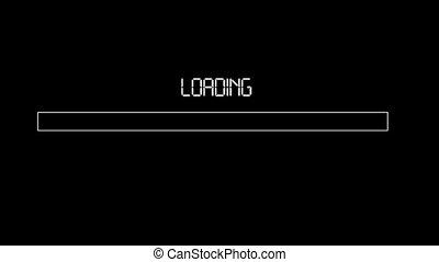 Loading Progress Bar - loading progress bar, changing color...