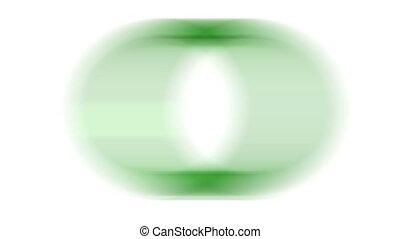 Loading - Blur loading green ring