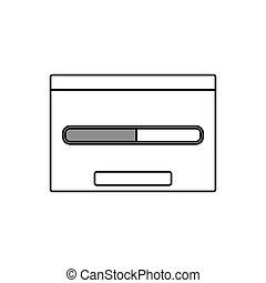 Loading window symbol