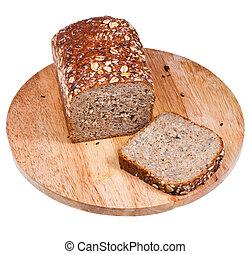 loaf of multigrain bread