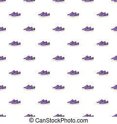 Loafers pattern, cartoon style