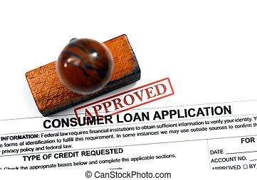 Loan application - approved