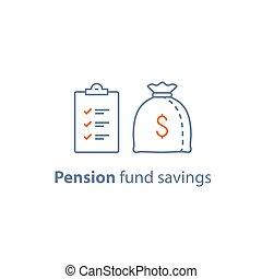 Loan approval, accountancy service, pension savings, mutual...