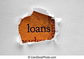 Loan concept