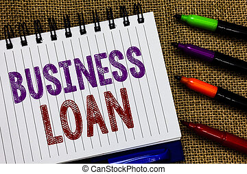 loan., finanziario, testo, segno, aperto, affari, ipoteca, assistenza, spirale, marcatori, esprimere, foto, concettuale, colorito, avanzamenti, esposizione, ideas., quaderno, fondo, debito, iuta, contanti, credito, pagina