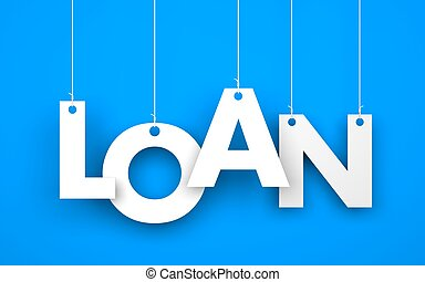 Loan. Text on the ropes